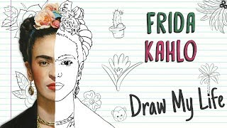 FRIDA KAHLO 🌺🌵🐒 | Draw My Life
