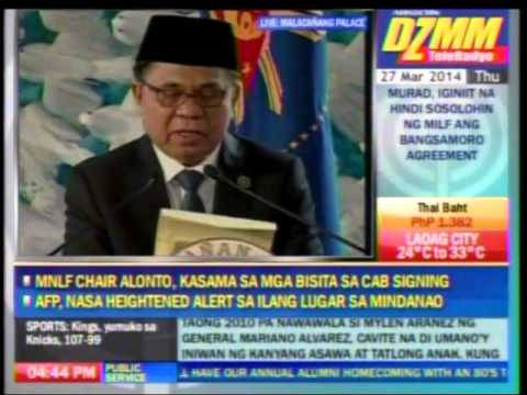Bangsamoro entity, para rin sa MNLF - Murad