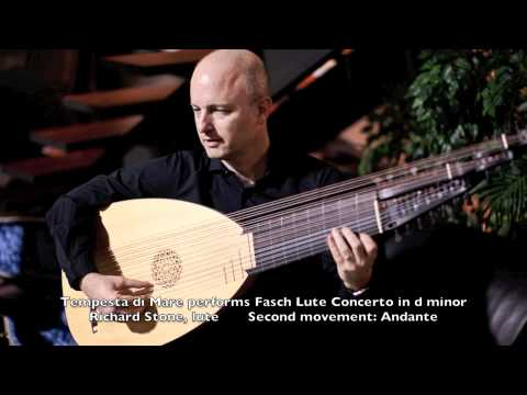 Johann friedrich fasch: lute concerto in d minor: second movement: andante mp3
