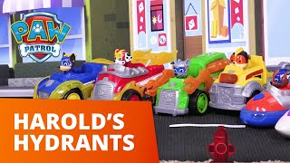 PAW Patrol | Harold's Hydrants | Toy Episode | PAW Patrol Official & Friends