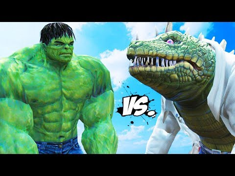 THE INCREDIBLE HULK VS THE LIZARD (SPIDER-MAN)