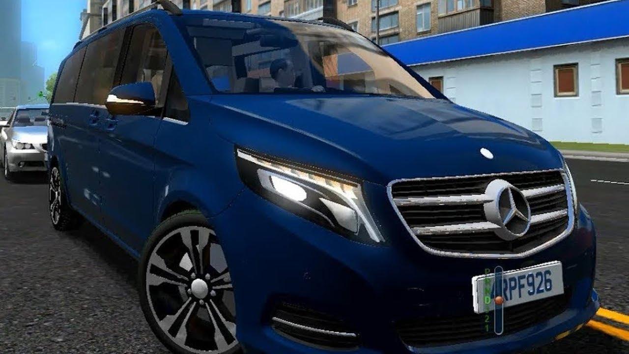 Mercedes Benz V250 BlueTec 2016 City Car Driving - YouTube