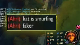 THEY CALLED ME FAKER LOL