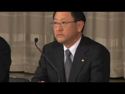読売新聞の越前谷記者がトヨタ自動車のリコール会見で質問