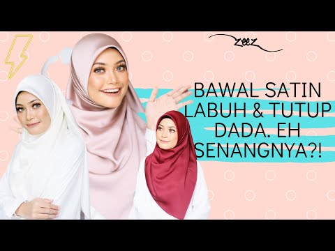 Hijab Tutorial : Square Scarves Cover your Chest Styled by Nisa Kay