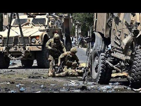 Taliban suicide bomber kills four at NATO  base in Bagram Afghanistan