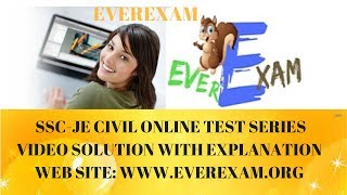 ONLINE DEMO TEST SERIES  SOLUTION PART-1|www.everexam.org