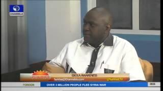 Ebola Disease Serves As Eye Opener For Public Health/Hygiene-- Dr. Doyin