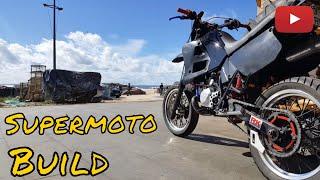 SUPERMOTO BUILD / TIMELAPSE / Yamaha Dtr 125