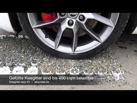 Bekannt Kiesgitter secu K3 - Bodenwabe zur Stabilisierung von Kies CZ08