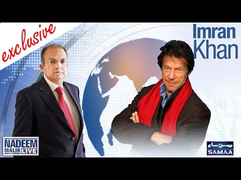 Imran Khan Exclusive | Nadeem Malik Live | 28 Sept 2016