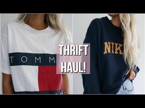 HUGE COLLECTIVE THRIFT HAUL // TRY-ON