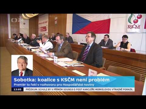 Vládní koalice ČSSD s KSČM