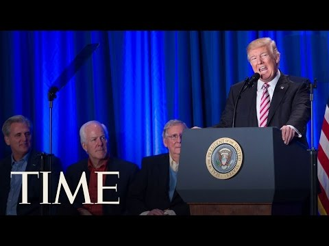 President Trump On His Meeting With Mexican President Enrique Peña Nieto | TIME