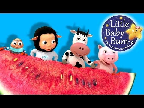 Thumbnail: Down By The Bay | Nursery Rhymes | By LittleBabyBum!