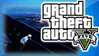 gta 5 online multiplayer funny moments 8 bikes on jets parachute fail beach bum dlc glitches