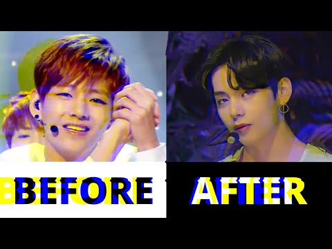 BTS - JUST ONE DAY (before vs after) 💜