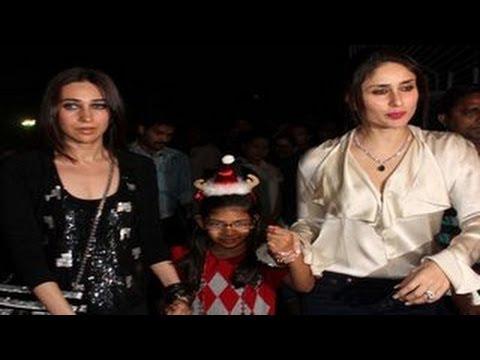 MUST WATCH: Kareena Kapoor & Karishma @ Midnight Mass for ...