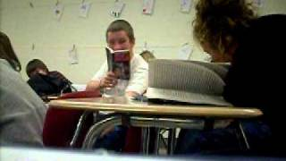 brandon farting in class