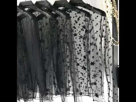 Áo lưới nữ đen tay dài cá tính – Chibell