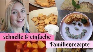 Kochen für Kinder ♥ Schnelle, einfache Familienrezepte im November