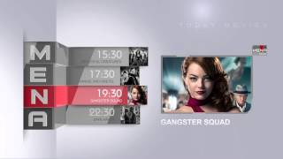 Mena Movie Schedule- Elegant TV Broadcast Package - After Effects Template