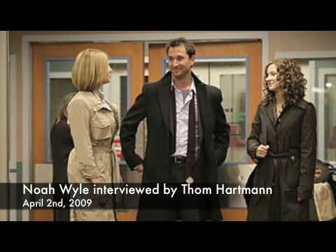 Noah Wyle radio interview - April, 2nd, 2009.