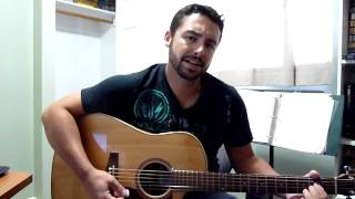 God Gave Me You Blake Shelton Acoustic Cover by