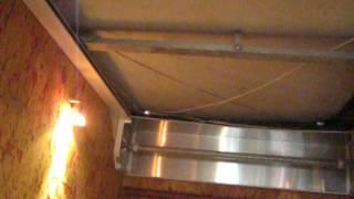 Подвесной Потолок   Роллет! Часть 1 Монтаж