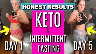 INTERMITTENT FASTING & KETO DIET RESULTS / WEIGHTLOSS TRANSFORMATION / DANIELA DIARIES