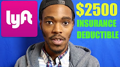 $2500 insurance deductible on Lyft. This can't be good for drivers!