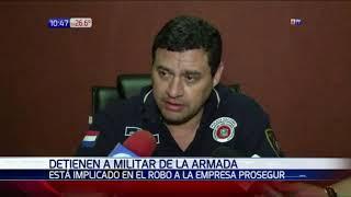 Detienen a militar por presuntos vínculos al asalto a Prosegur