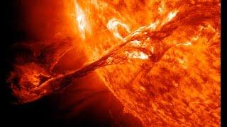 NASA's Solar Fleet Sees Massive Filament Erupt on Sun