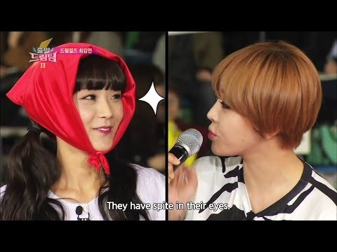 Let's Go! Dream Team II | 출발드림팀 II : Dream Girls Competition (2014.06.07)