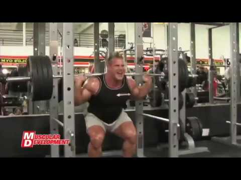 Jay Cutler Legs Workout