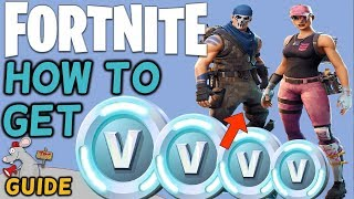 Fortnite - How To Get V Bucks - Get New Gliders Picks And Skins For Battle Royale