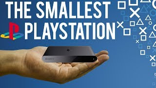 THE SMALLEST PLAYSTATION!