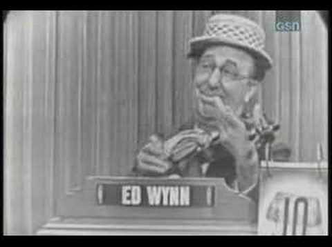 Whats my line?  Ed Wynn