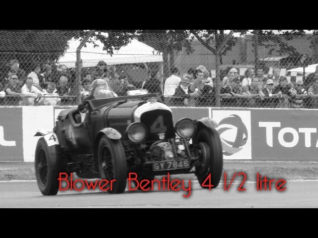 Blower Bentley 4 1/2 litre in Le Mans