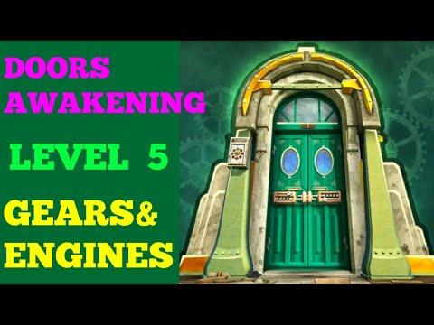 DOORS AWAKENING LEVEL-5 GEARS & ENGINES WALKTHROUGH OR SOLUTION