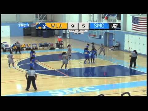 Santa Monica College Women's Basketball vs West Los Angeles College - January 16, 2016 (Full Game)
