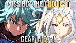 INSANE UNITS And GEAR, Multi-Legend Whale! [Epic Seven Account Review Ft. Vinni]