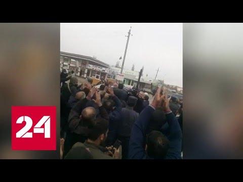 Президент Азербайджана Ильхам Алиев прибыл в Нагорный Карабах - Россия 24