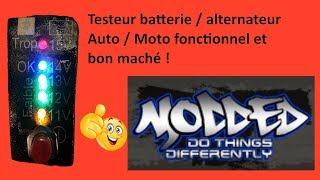 Testeur batterie / alternateur pour auto /moto bon marché