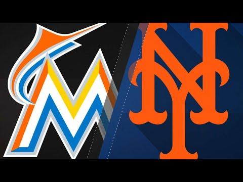 Smith, Marlins stifle the Mets in a 5-1 win: 5/22/18