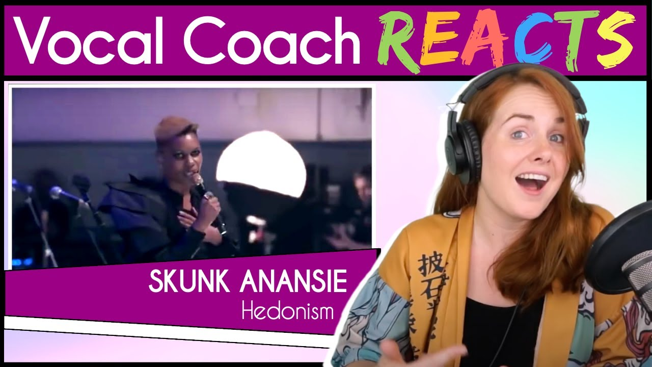 Vocal Coach reacts to Skunk Anansie - Hedonism (Skin Live)