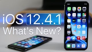 iOS 12.4.1 is Out! - What's New?
