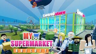 My Supermarket - Welcome to my DIY Supermarket - Roblox