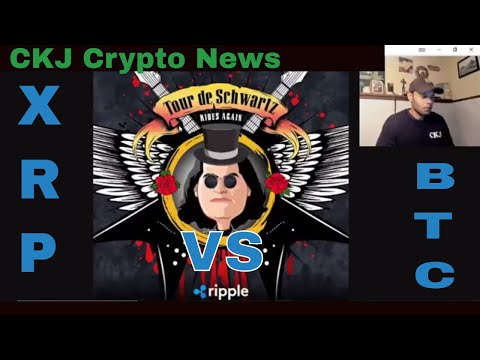 Ripple XRP. David Schwartz Delivering A Speech On XRP Vs BTC The Battle Heats Up . CKJ Crypto