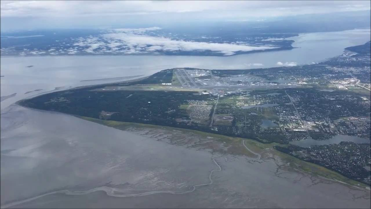 Flying To Anchorage Ak From Chicago On Alaska Airlines